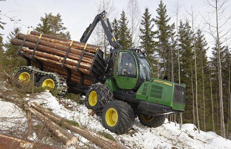 Тестирование лесозаготовительной техники